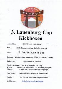 3. Lauenburg-Cup Kickboxen @ Weingarten-Sporthalle | Lauenburg/Elbe | Schleswig-Holstein | Deutschland